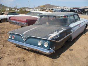1961 Chevrolet Bel Air (61CH5439D)