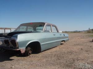 1963 Chevrolet Bel Air (63CH2454D)