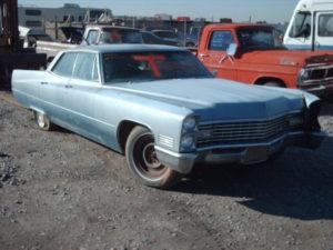 1967 Cadillac Sedan de Ville (67CA5395D)