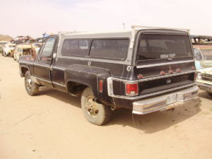 1981 Chevy-Dually Truck  (81CT8036C)