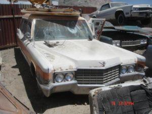 1969 Cadillac Hearse (69CA5580D)