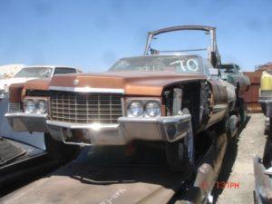 1970 Cadillac de Ville (70CA8929D)