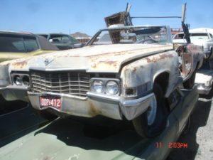 1969 Cadillac de Ville (69CA4654D)