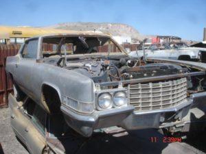 1969 Cadillac Coupe de Ville (69CA0298D)