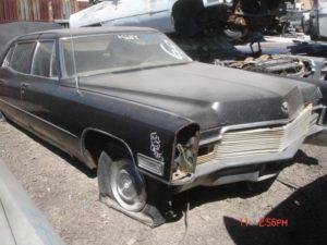 1968 Cadillac Fleetwood (68CA7401D)