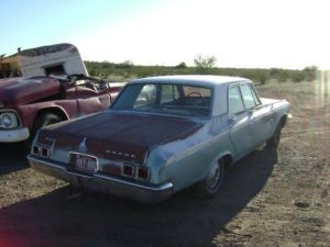 1964 Dodge 4 door sedan (64DG7006D)
