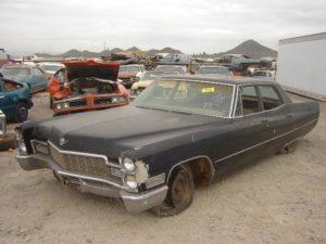 1968 Cadillac Sedan de Ville (68CA2083D)