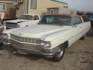 1964 Cadillac Sedan de Ville (64CA9570D)