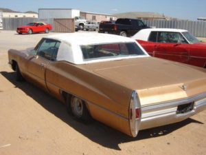 1968 Cadillac Coupe de Ville (68CA4100D)