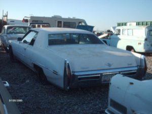 1972 Cadillac Coupe de Ville (72CA5175D)