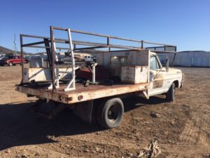 1970 Ford F350 Flatbed  (70F01361D)